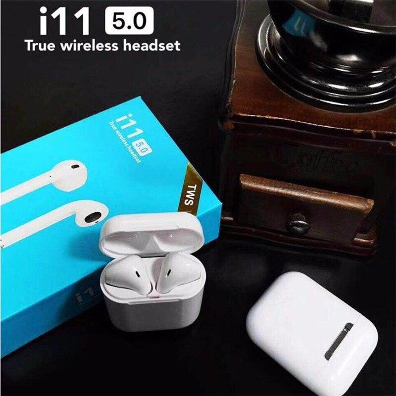 2019 meilleure vente produit i11 Tws écouteurs sans fil écouteur Bluetooth 5.0 écouteurs tactile contrôle micro casque pour tous les téléphones intelligents