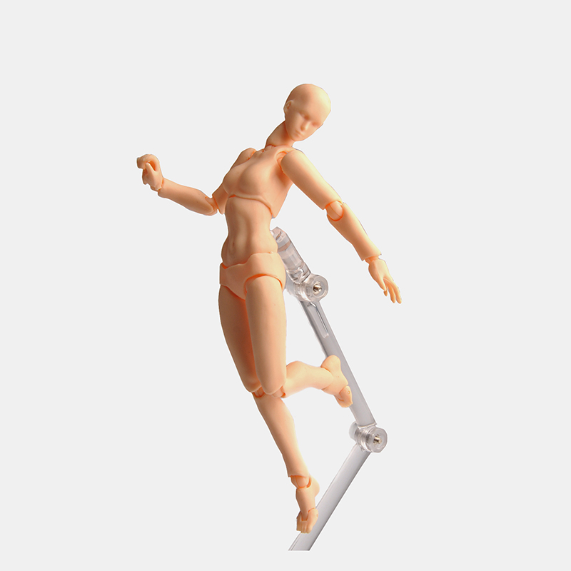 Nude Muscular Body Youth 2 0 Type 14 5cm PVC Female Male Body Figure Movable Action Figure Collection in Action Toy Figures from Toys Hobbies