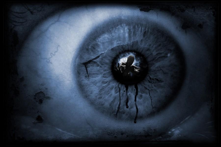 ⑦DIY marco horror Ojos oscuro scary oscuridad ojo reflexiones ...