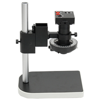 Jiguoor Industryt Camera Video Zoom Lens Set Camera Zoom Lens with Stand Bracket 16MP 1080P 10X 100X HDMI Digital Microscope