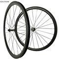Широкий 23/25 мм любой бренд света 38 мм Tubualr Углеродные колеса 700C дорожный велосипед полностью Углеродные колеса 38 мм велосипедные колеса