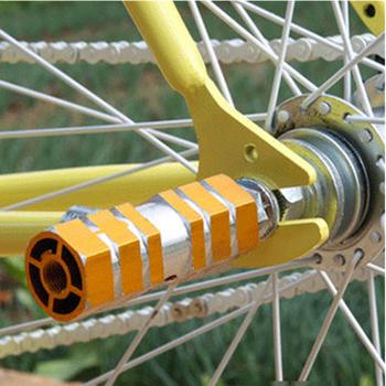 Rower Mtb podnóżki pedały Bicicleta Mtb podnóżek dźwignia akcesoria rowerowe małe filary sprzęt kolarski tanie i dobre opinie Aluminium stop Rowery górskie Rowery drogowe Ultralight pedału 945086 Length 6 3cm width 2 6cm bike pedals mtb pedals