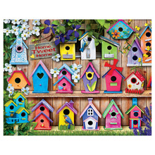 Diamond Embroidery Landscape Diy  Painting House Full Round Mosaic Sale Rhinestone Picture Home Decor