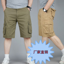 100 Cotton Cheap Durable Multi Pocket Army Bermuda Military Cargo Shorts Men Plus Size 42 44