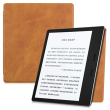 BOZHUORUI Ultra-thin Case for Kindle Oasis (9th Gen,2017 Release),Magnetic Strong Adsorption Folding Standing High quality cover