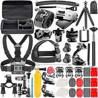 Neewer GoPro Zubehör Kit für GoPro 8 GoPro Hero 7 6 5 4 Hero Sitzung 5 Apeman DJI OSMO Action SJ6000 mehr
