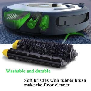 Image 5 - IRobot Roomba 600 Serie (585,595,610,620,630,650,660,680) Stofzuigen Robots Aero Vac Filter Haren Flexibele Beater
