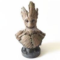23 см Мстители 3 Бесконечная война дерево человек фигурку супергероя дерево человек Смола Бюст Smile версии дерево человек модель цифры статуя