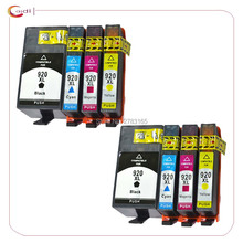 8Pack Compatible for hp 920 920XL for HP OfficeJet 6000 6500 6500 6500A /7000/7500/7500A Printer ink cartridge все цены