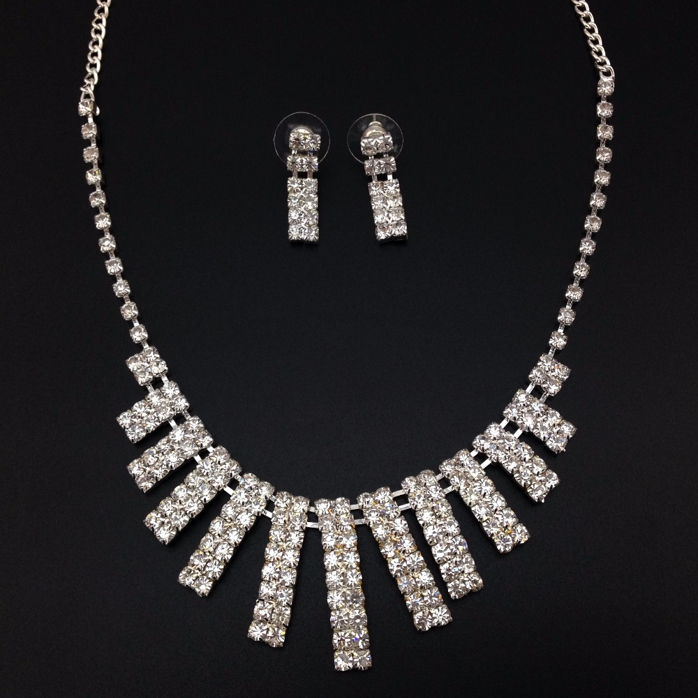 Artificial Bridal Jewellery Sets: 2016 Fashion Hot Sale Necklace And Earring Artificial