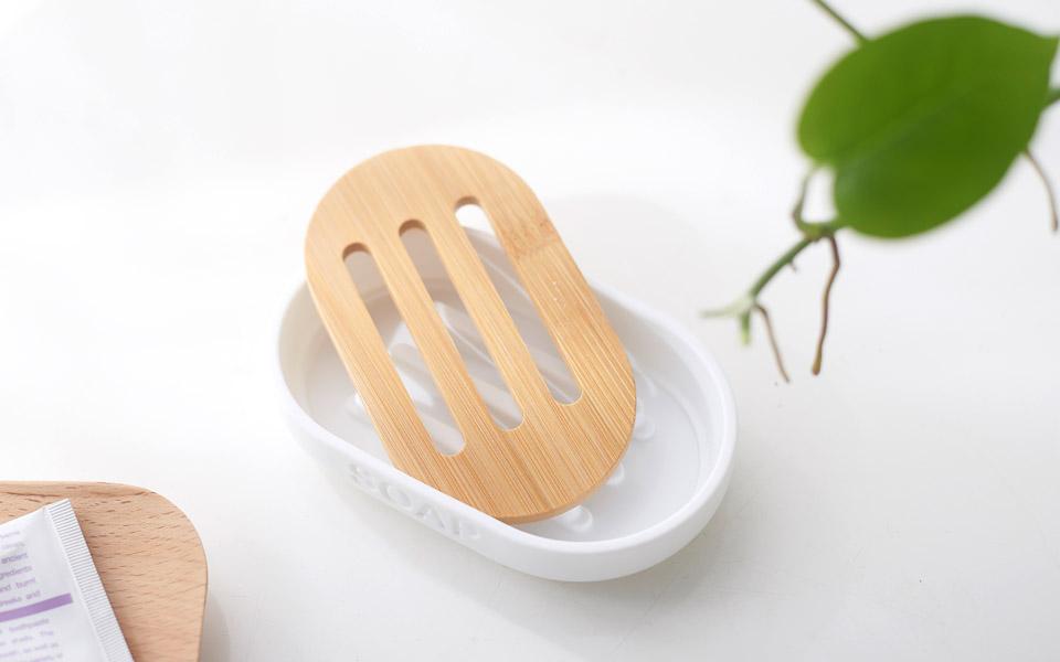 Jabonera de bambú 6