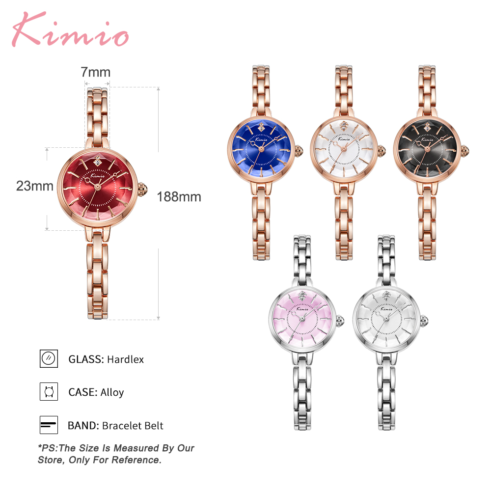 Kimio Small Dial Fashion Casual Kvinder Ure Armbånd Armbånd - Dameure - Foto 6