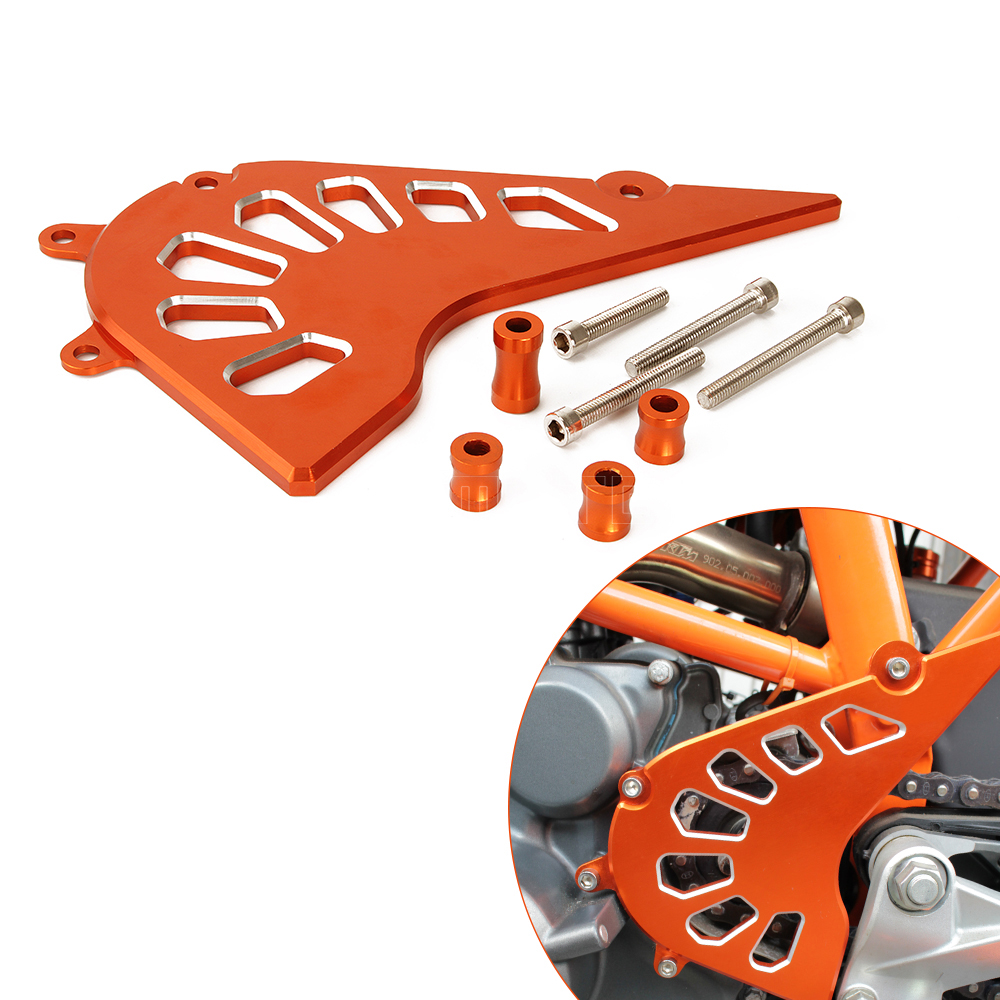 Motorcycle CNC Aluminum Front Sprocket Cover Engine Chain Guard Case Protection for KTM DUKE 390 duke390 2013 2014 2015 cnc aluminum motorcycle accessories chain guard cover protector orange for ktm duke 125 200 all year 390 2013 2014 2015 13 14 15