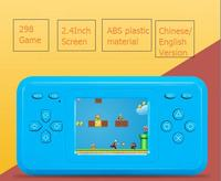 16cm Family Computer Station Game Toy ABS Chinese English Version Kids Handheld Game Console 298 Game