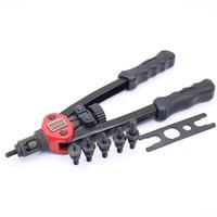 13 330MM Rivet Nut Gun Double Hand Manual Riveter Hand Riveting Tool M3 M4 M5 M6