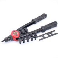 YOUSAILING 13 (330MM) Rivet Nut Gun Double Hand Manual Riveter Hand Riveting Tool M3/M4/M5/M6/M8/M10