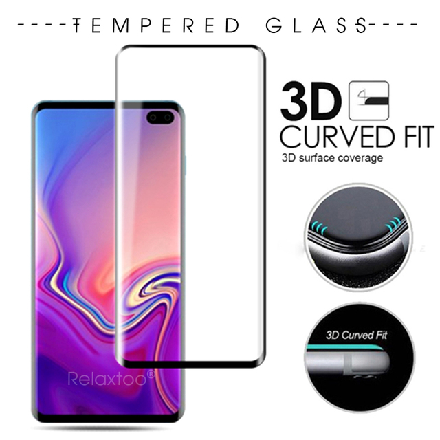 3D Glass for Samsung galaxy s10 plus protective glass samsun s10 plus e tempered glas s10plus s10e 10s protect film curved cover