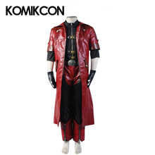 Devil May Cry 4 Dante Cosplay Costume  DMC4 Halloween Suits wtih Winter Trench Coat Shirt Pants Uniform For Men's Sets цена