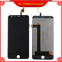 100% Original  For Ulefone be touch 2 LCD Display+Touch Screen Digitizer Assembly Replacement Accessories Free shipping