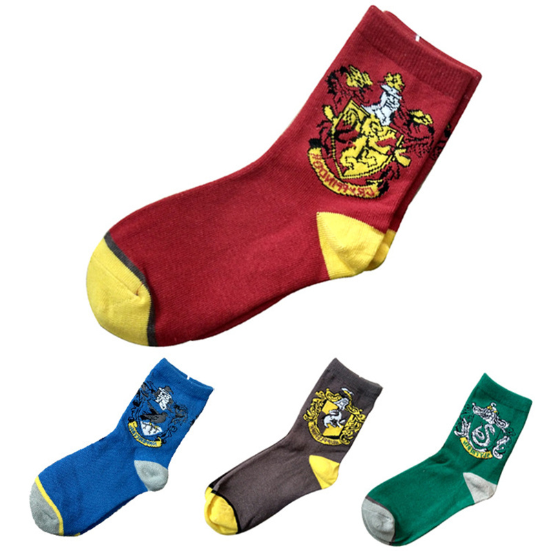 Cosplay Prop College Cotton socks Gryffindor Winter Warm Gloves Cartoon Halloween Gift Magic Toys For kids