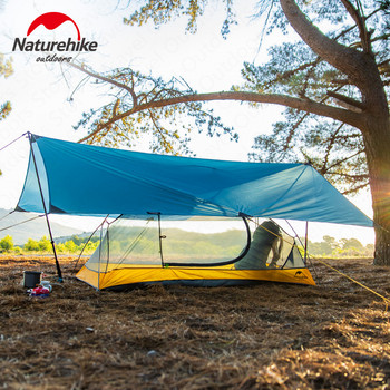 Naturehike Camping Tent Sun Shelter Outdoor Ultralight Many persons Portable Folding Shelter Rainproof Beach Picnic Sunshade