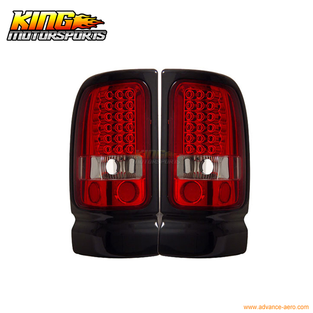 For 1994 2001 Dodge Ram Pickup Led Tail Lights Red Clear 95 96 Usa Domestic Free Shipping