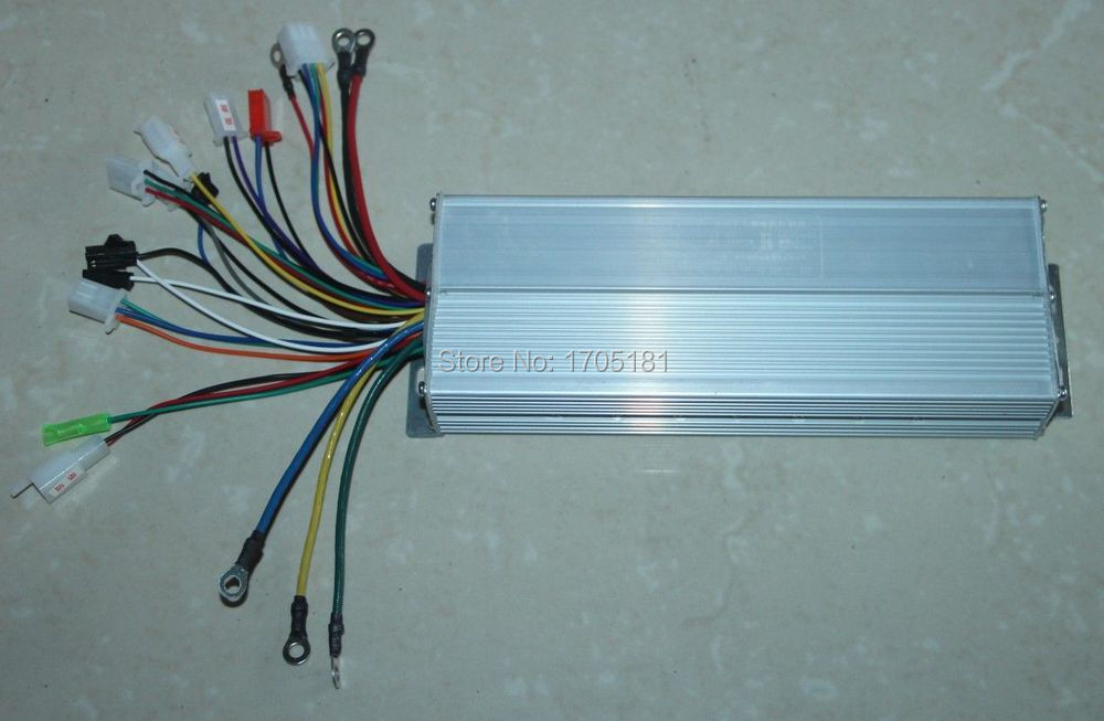 Electric Scooter tricycle 60V 1500W motor Brushless Controller 3 ...