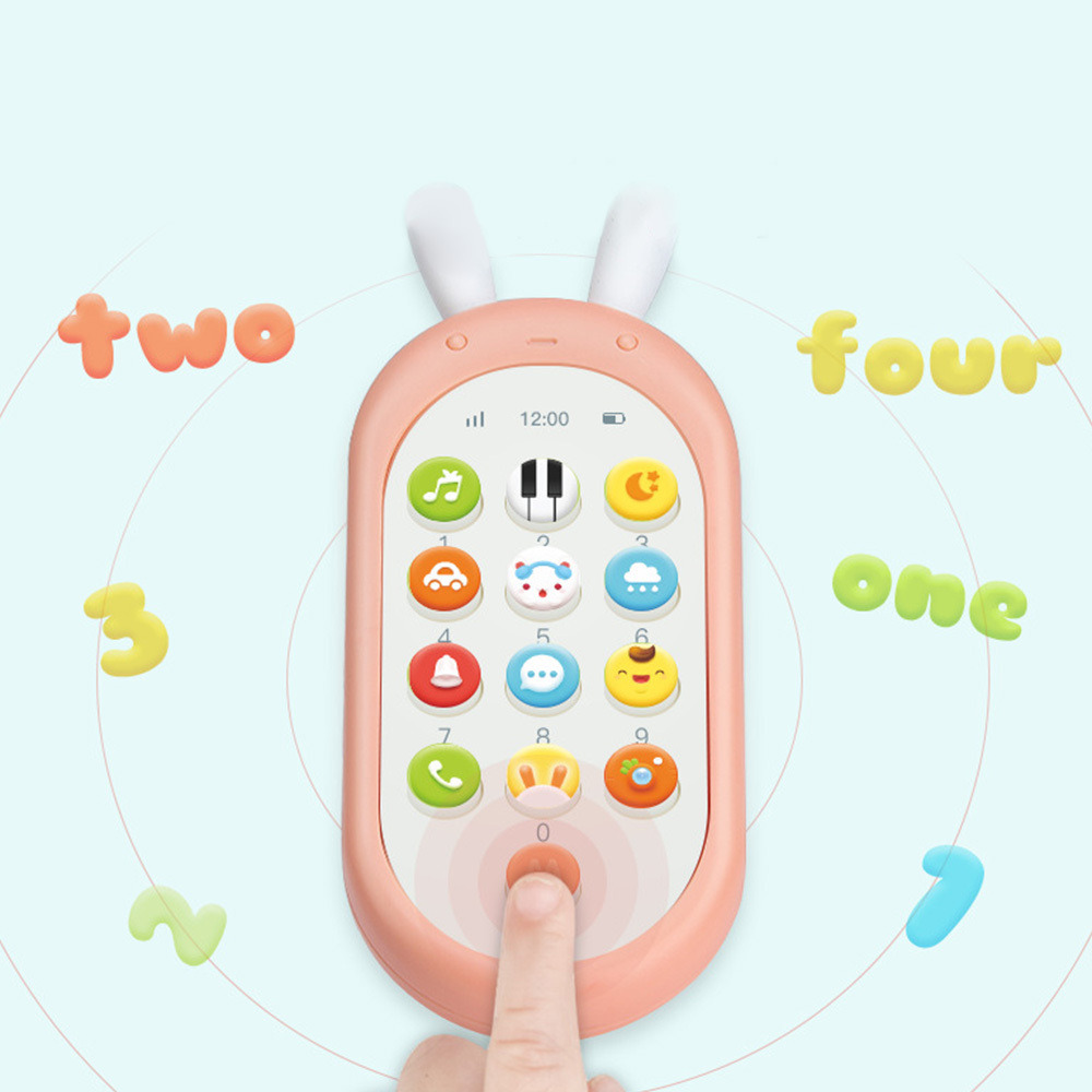 Electronic Kid Toy Mobile Phone Cellphone Telephone Educational Learning Toys Music Baby Infant Phone Best Gift For Kids