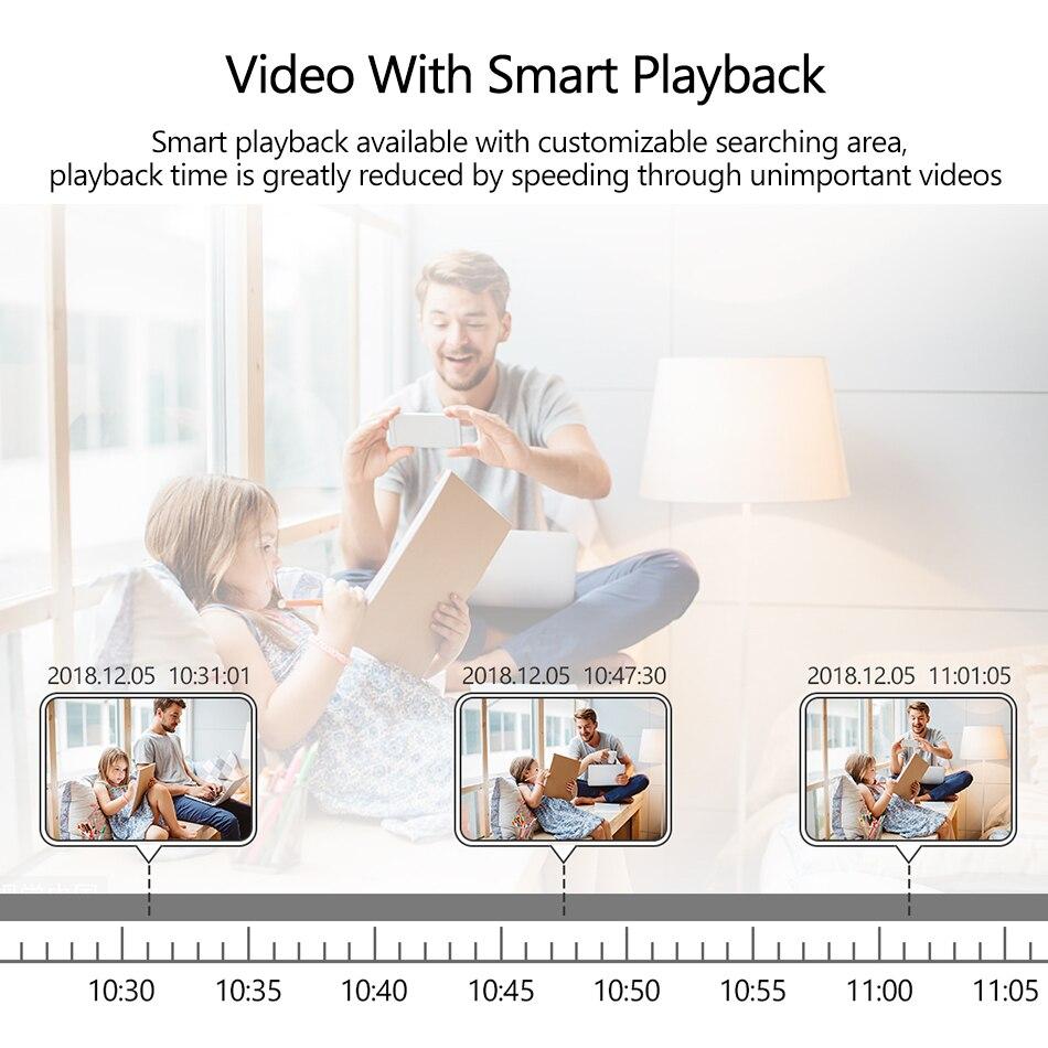Techage 8CH 1080 P POE NVR CCTV Système de Sécurité 4 PCS 2.0MP Enregistrement Audio IP Caméra IR P2P En Plein Air Vidéo surveillance Kit 2 TO HDD - 6