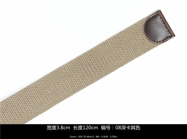 2018 new Canvas   belt   001