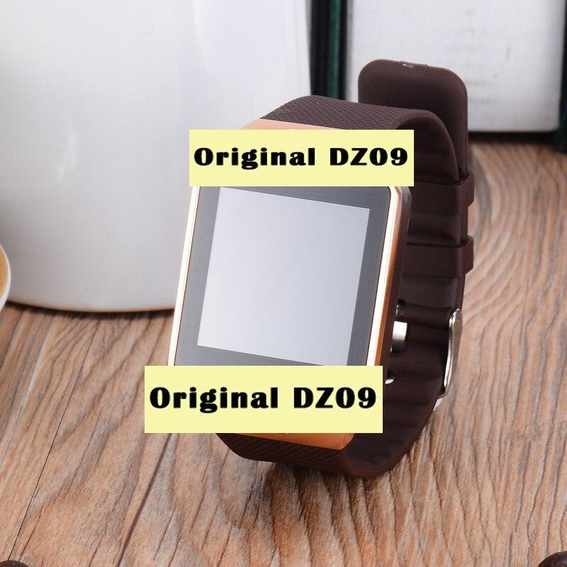 imágenes para Fuster Original DZ09 sim Bluetooth reloj inteligente con cámara reloj inteligente control remoto sus teléfonos celulares reloj Podómetro Actividad