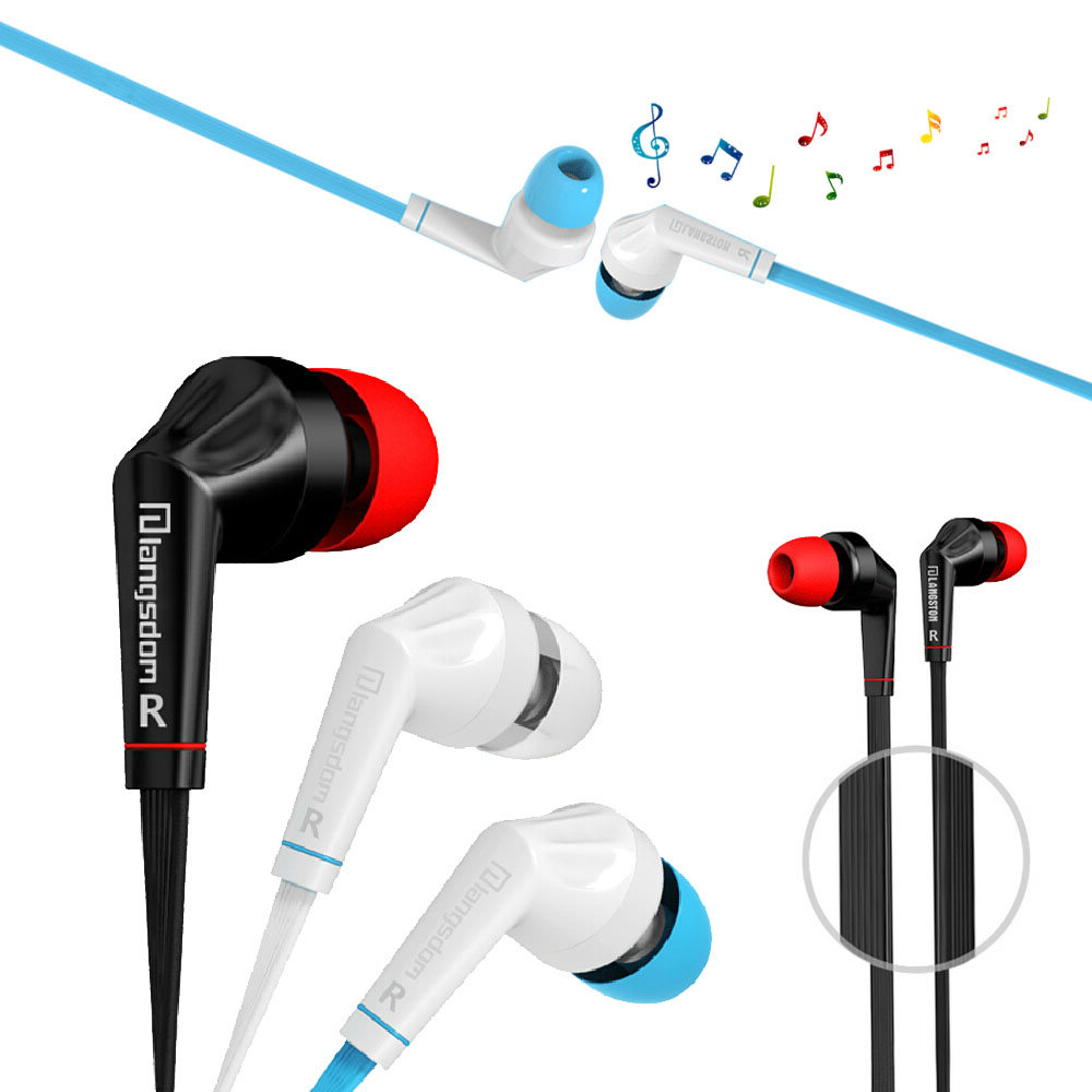 Sport Running Headsets In-Ear High Quality Earphones  With Mic Headset Hot Sell For iPhone Samsung Xiaomi MP3 MP4 3 5mm in ear earphones with mic