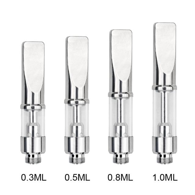 US $162 89 9% OFF 100PCS/LOT A7 e Cig CE3 Glass Vape Ceramic core Cartridge  0 5ml Vaporizer empty vape pen cartridges disposable e cigarette-in