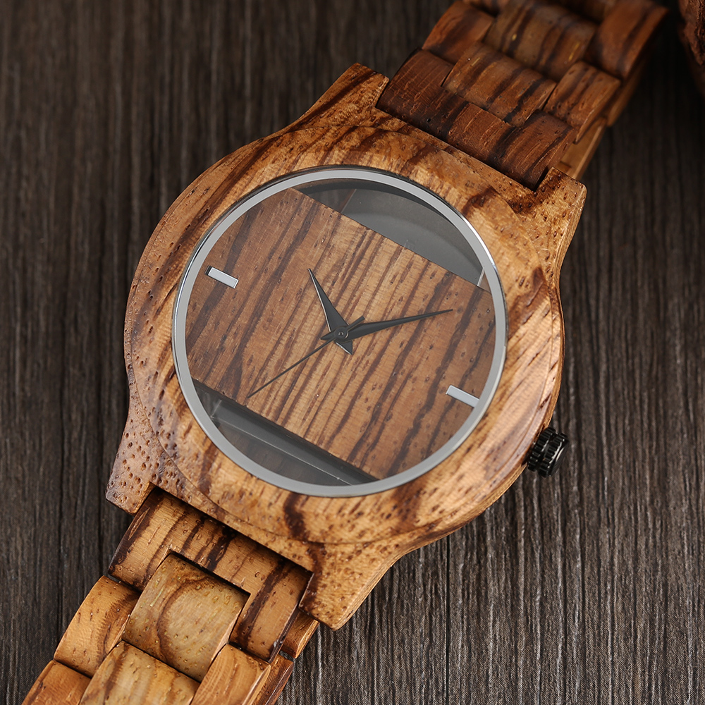 YISUYA Creative Men Hollow Bamboo Wooden Watches Fashion Watches Unique Handmade Wood Wristwatch Sport 17 New Women Relogio 5