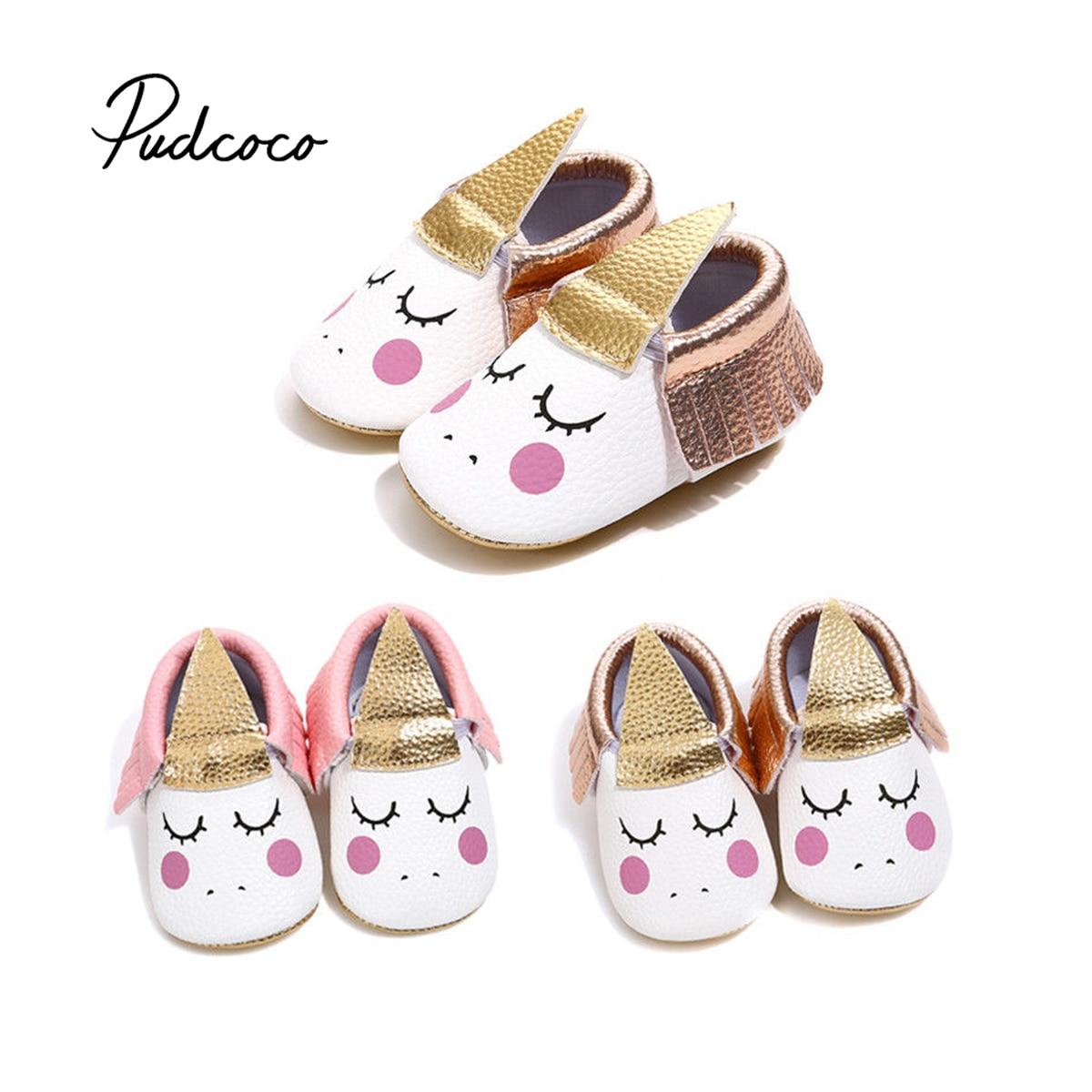 Pudcoco Cute Baby Boy Girl Sandals Infant Newborn Tassel ...