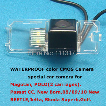Color CMOS Camera Special for VW Magotan, POLO, Passat CC, New Bora,08/09/10 New Beetle, Jetta, Skoda Superb,Golf
