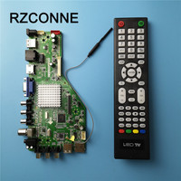 MSD338STV5.0 Intelligent Wireless Network TV Driver Board Universal LCD Motherboard For Android WI FI ATV RAM 1G and 4G