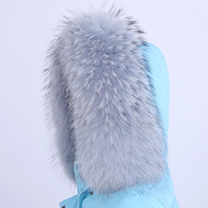 Leather raccoon fur collar women 100 natural fur gray leather collar shawl fur collar fur variety