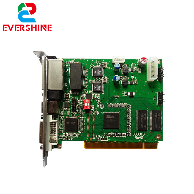 все цены на Linsn TS802 Sending Card,Use for Synchronous Full Color LED Video Display Control Card онлайн