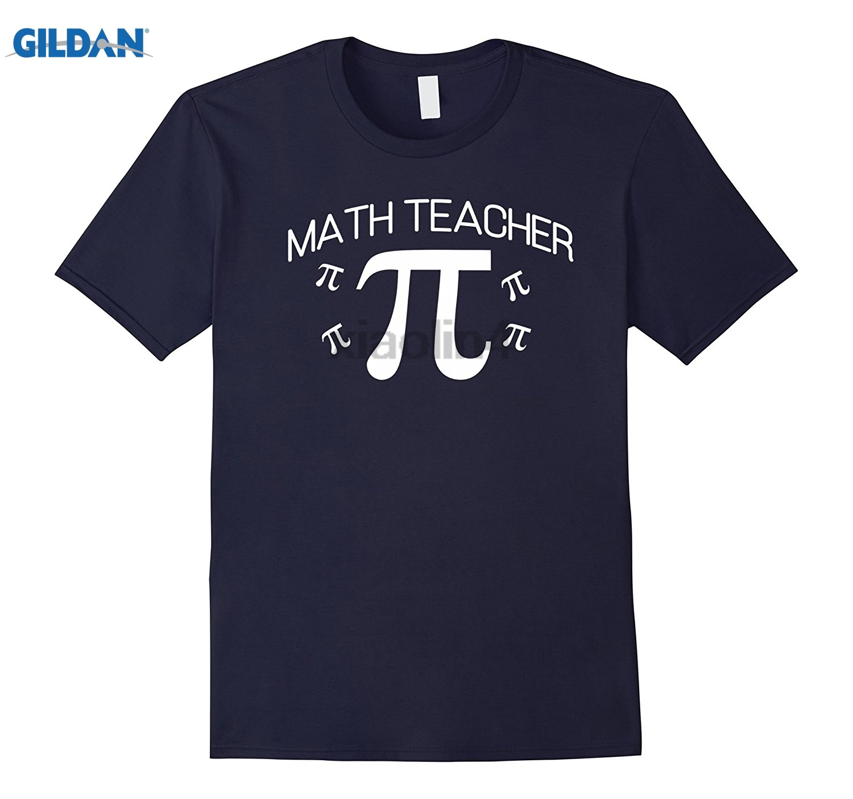 GILDAN Math Teacher Pi Day Printed T shirt T Shirts For Men Womens T-shirt