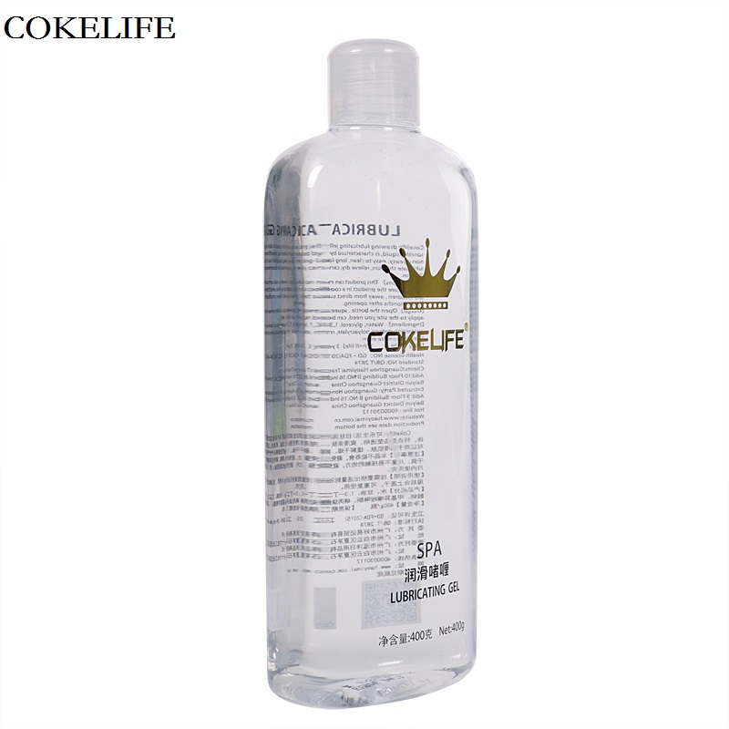 COKELIFE 400g Strong Drawing Lubrication Transparent Grease lubricant for Anal sex Vagina Water Base Sex Oil For Adults