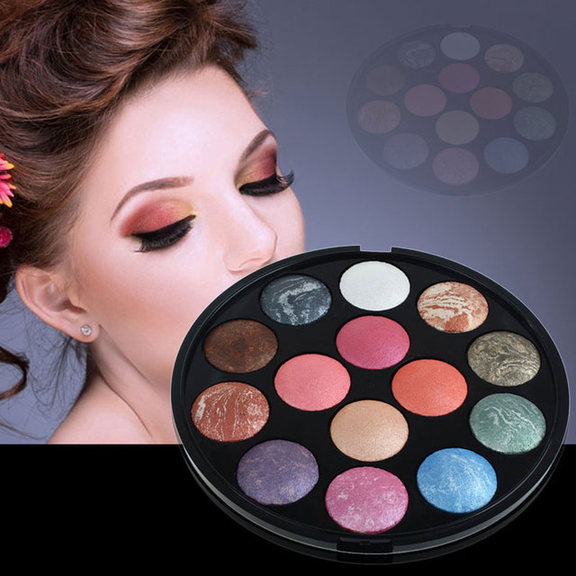 2016 14 Colors Colorful Shimmer Matte Eye Shadow Makeup Eyeshadow Palette maquillaje