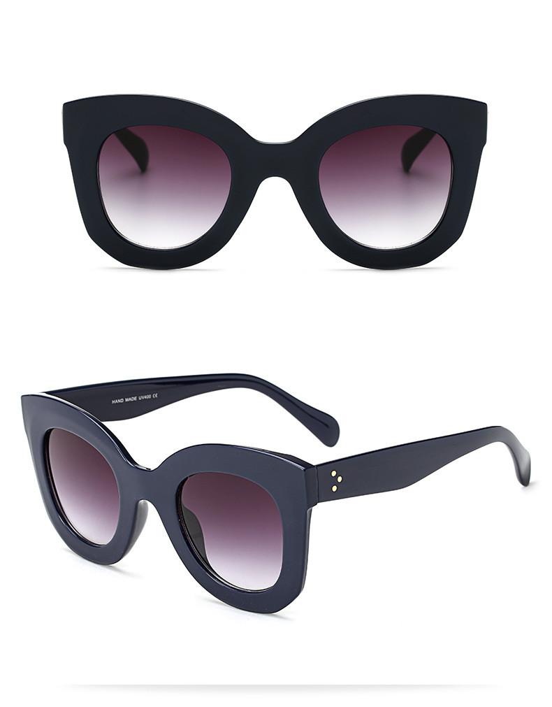 Luxury Vintage Cat Eye Sunglasses Women Brand Designer Female Sunglass Points Sun Glasses For Women Lady Sunglass Oculos De Sol (16)