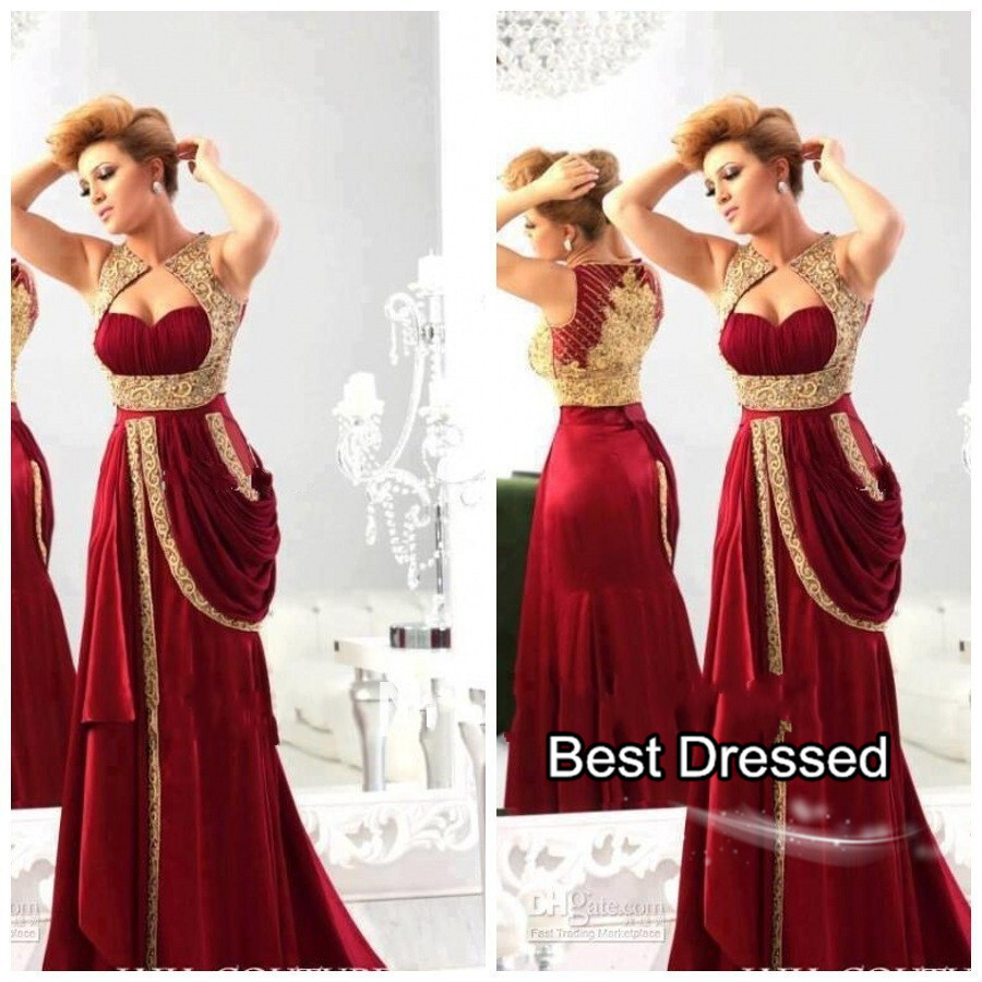 Aliexpress.com : Buy Red Amazing Evening Dresses Sweetheart Neck ...