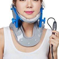 Adult Hot Cervical Vertebra Tool Tractor Medical Home Neck Traction Care Necks Breathable Cervicals Stretching Cervix Stretcher