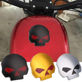 Skull Motorcycle Gas Fuel Tank Cover for Harley Sportster Aluminum Alloy