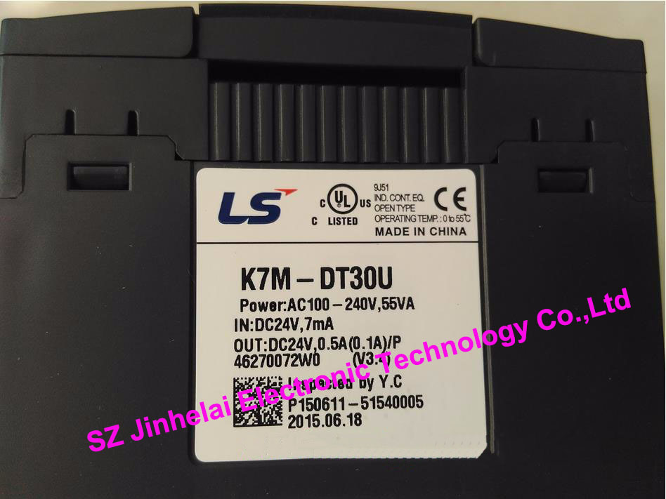 все цены на  100% New and original  K7M-DT30U  LS(LG) PLC controller  онлайн