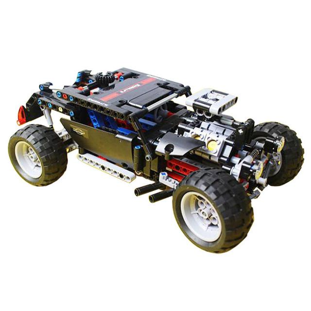Nueva Decool 3340 Técnica de Transporte Hummer SUV 470 Unidades ABS Plástico Building Block Sets Juguetes Para Niños Compatibles Con Leping