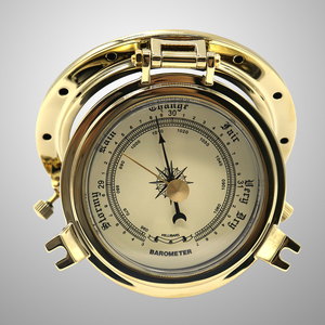 1 шт. винтажный барометр удобный Ретро барометр для лодки RV морской яхты
