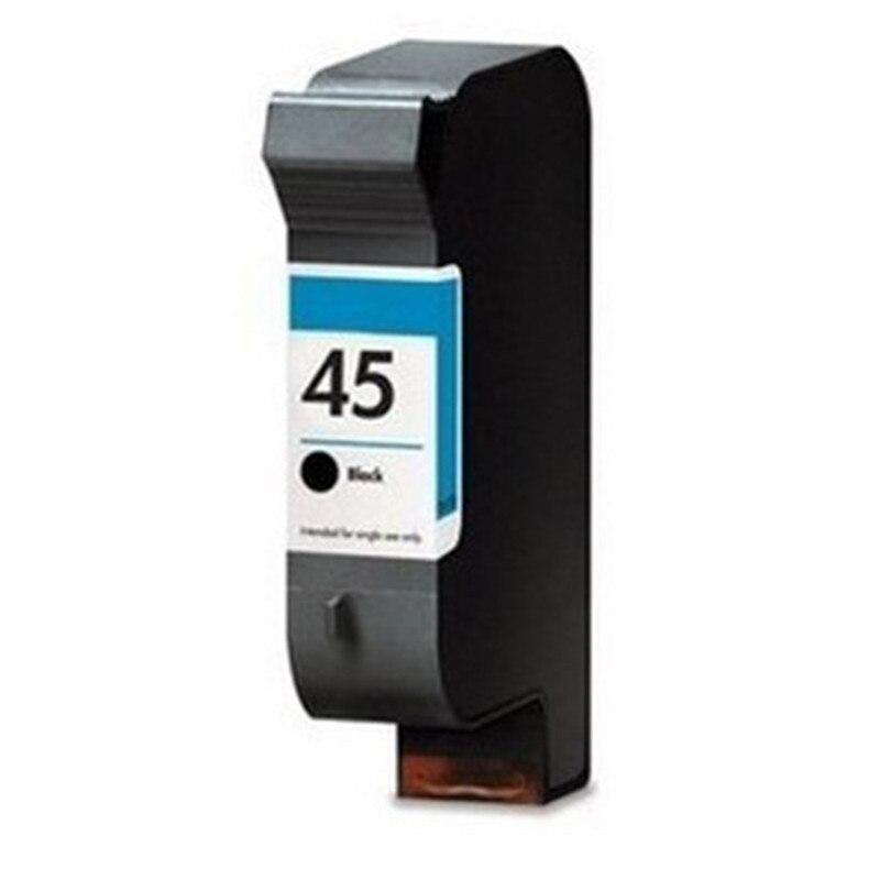 1PK Ink Cartridges Remanufactured For HP 45 HP45 51645A Deskjet 950c 955c 1000c 1125c 960c 970cxi 990cxi 1000cxi 750c Plus 755cm